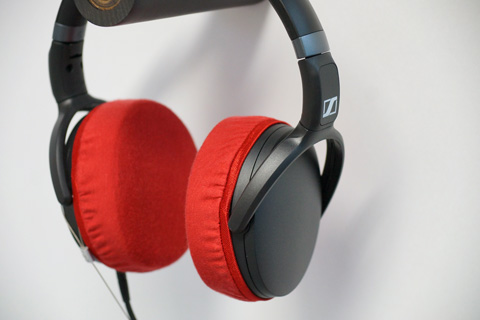 SENNHEISER HD4.30G ear pads compatible with mimimamo