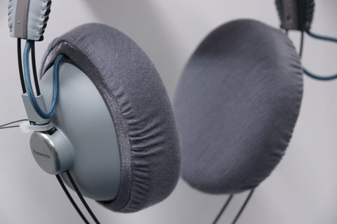 Panasonic RP-HTX80B ear pads compatible with mimimamo